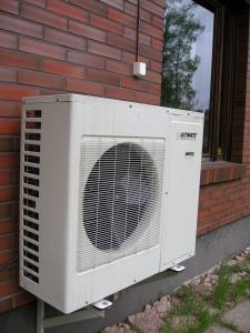 aparato común aire acondicionado